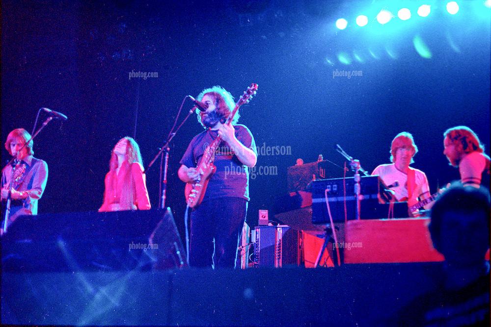 The Grateful Dead Live at Huntington West Virginia 16 April 1978