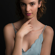 Studio fashion shoot with Los Angeles model, Juliette Cecile. Images made at FD Photo Studios  on June 30, 2018 in Downtown Los Angeles, California.  ©Michael Der