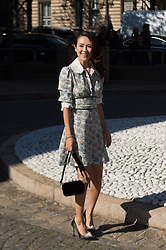 Zhang Ziyi attending the Miu Miu's Spring-Summer 2016/2017 Ready-To-Wear collection show in Paris, France, on October 5, 2016. Photo by Nicolas Genin/ABACAPRESS.COM