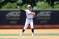 WINSTON-SALEM, NC - JUNE 02: Maryland's Kevin Smith. The West Virginia University Mountaineers played the University of Maryland Terrapins on June 2, 2017, at David F. Couch Ballpark in Winston-Salem, NC in NCAA Division I College Baseball Tournament Winston-Salem Regional Game 1. West Virginia won the game 9-1.