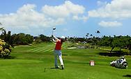 18 APR15 Sakura Yokomine during Saturday's Final Round of The LOTTE Championship at The Ko Olina Golf Club in Kapolei, Hawaii. (photo credit : kenneth e. dennis/kendennisphoto.com)