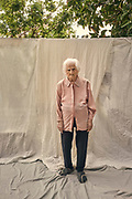 Mrs. Júlia Utrilla, born on 03/16/1935 in the town of Ruguilla (Guadalajara), Spain. She suffers from Alzheimer's disease, pictured at the Gure Etxea residence in Barcelona, Spain, on May 18, 2020. At 83 he has survived many conflicts, from the Spanish civil war, the postwar period, the famine and now the pandemic. She went through the Covid-19 disease and overcame it
