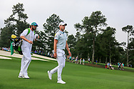 Danny Willett (ENG) on the 3rd during the 1st round at the The Masters , Augusta National, Augusta, Georgia, USA. 11/04/2019.<br /> Picture Fran Caffrey / Golffile.ie<br /> <br /> All photo usage must carry mandatory copyright credit (© Golffile | Fran Caffrey)