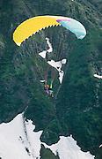 Alaska. Girdwood. Paraglider. MR