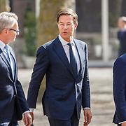 NLD//Middelburg20160421 - Four Freedoms Awards 2016, ......... premiere Mark Rutte en burgemeester Harald Bergmann