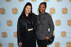 Elly Smokles and Melat Zewdie at Irish Screen America: Float Like a Butterfly & Local Short Film Showcase held at Ahrya Fine Arts by Laemmle on November 02, 2019 in Los Angeles, California, United States (Photo by © Jc Olivera/VipEventPhotography.com)