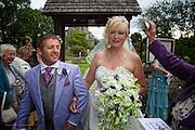Photographs of Kim & Chris' wedding day at Long Bennington and Grantham.