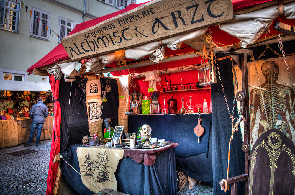 At the Medieval Christmas Market in Esslingen
