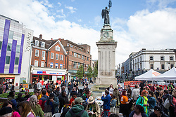 Luton, UK. 15 June, 2019. Luton Council holds a People's Launch of its 'People Power Passion' programme of events for its Pilot Year of Culture, celebrating the creativity, vibrancy and diversity of Luton. 2019 marks 100 years since the Luton Peace Day riots and the programme will explore the themes of those riots and their impact on the people and places of the town. The council's strategy for the arts, cultural and creative industries includes plans for a bid to be named UK City of Culture in 2025.