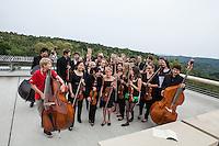 Allegro Vivo 2013: Camerata Allegro Vivo auf der Altane des Stifts Altenburg