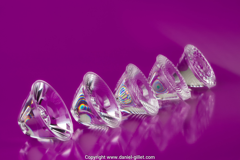 Prise de vue studio de pieces plastique, Gaggione // Studio photos of plastic lighting elements, Gaggione