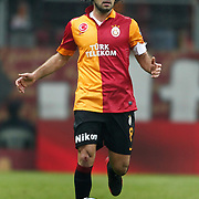 Galatasaray's Selcuk Inan during their Turkish Super League soccer match Galatasaray between Genclerbirligi at the TT Arena at Seyrantepe in Istanbul Turkey on Friday, 08 March 2013. Photo by Aykut AKICI/TURKPIX