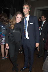 ROSE FARQUHAR and TOM FABER at the Tatler Little Black Book Party at Home House Member's Club, Portman Square, London supported by CARAT on 11th November 2015.