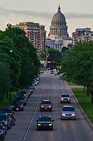 Wisconsin State Capitol & Washington Avenue