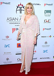 Emma Noble attending the 8th Annual Asian Awards held at the Hilton Hotel, Park Lane, London.