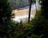Tahquamenon Falls State Park, Michigan, Michigan, June, 1990.