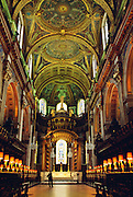 London, St Paul's cathedral, Interiors of cathedral