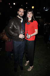 KYRIAKOS ORSANIDIS and MARIA CASTANI at a party to celebrate the global launch of the Iconic Brazilian lifestyle brand Havaianas Wellies range held at Selfridges, Oxford Street, London on 14th April 2011.