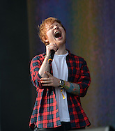 BBC Radio Big Weekend  Glasgow  Day 2 <br /> Ed Sheeran <br /> Pix dave nelson