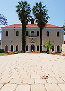 Israel, Mikveh Israel, the first Jewish agricultural school in Palestine. Established 1870. The Synagogue building