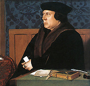 Thomas Cromwell Earl of Essex, painted by Holbein. Thomas Cromwell, 1st Earl of Essex, KG, PC (c. 1485[1] – 28 July 1540), known as 1st Baron Cromwell of Wimbledon between 1536 and 1540, was an English statesman who served as King Henry VIII's chief minister from 1532 to 1540.