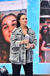 Demi Lovato during Capital's Summertime Ball with Vodafone at Wembley Stadium, London. This summer's hottest artists performed live for 80,000 Capital listeners at Wembley Stadium at the UK's biggest summer party. Performers included Camila Cabello, Shawn Mendes, Rita Ora, Charlie Puth, Jess Glyne, Craig David, Anne-Marie, Rudimental, Sean Paul, Clean Bandit, James Arthur, Sigala, Years & Years, Jax Jones, Raye, Jonas Blue, Mabel, Stefflon Don, Yungen and G-Eazy