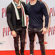 NLD/Amsterdam/20160310 - Premiere Pippin, Jeffrey Wammes en partner Karl Kosztka