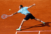 Roland Garros. Paris, France. May 28th 2012.French player Michael LLODRA against Guillermo GARCIA-LOPEZ..