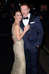 Damian Lewis and  Helen McCrory arriving at the London Evening Standard Theatre Awards in London, Sunday, 17th November 2013. Picture by Nils Jorgensen / i-Images