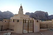 Mosque in Rum village, Wadi Rum, Jordan