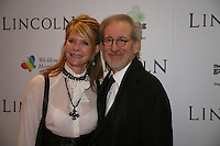 Kate Capshaw and Steven Spielberg at the Lincoln film premiere Savoy Cinema in Dublin, Ireland. Sunday 20th January 2013.