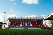 Trent End ahead of the EFL Sky Bet Championship match between Nottingham Forest and Aston Villa at the City Ground, Nottingham, England on 4 February 2017. Photo by Jon Hobley.