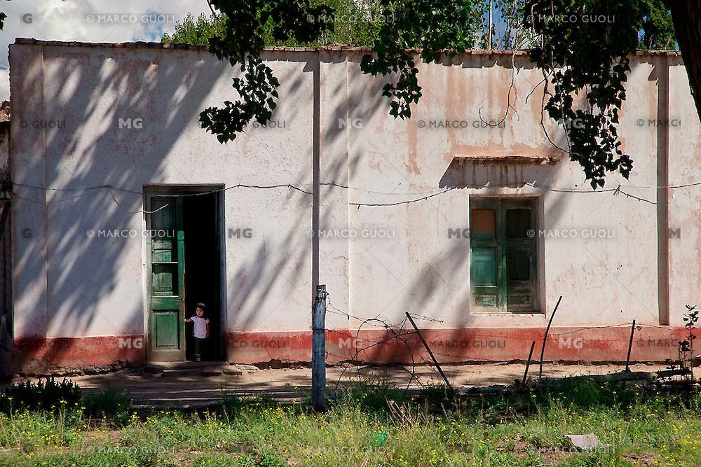 CASA TIPICA, LOS SAUCES, SAN CARLOS, PROVINCIA DE MENDOZA, ARGENTINA