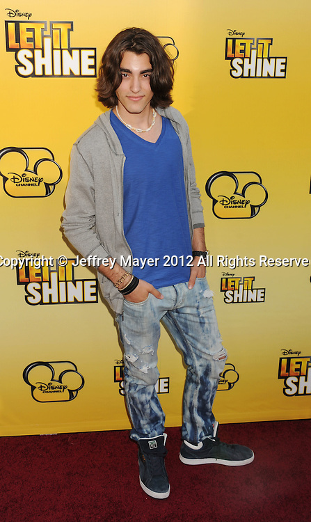 LOS ANGELES, CA - JUNE 05: Blake Michael attends Disney's 'Let It Shine' Premiere held at The Directors Guild Of America on June 5, 2012 in Los Angeles, California.
