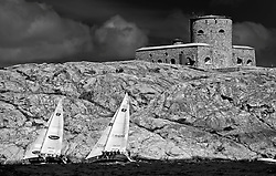 Minoprio vs Radich - Stena Match Cup Sweden 2010, Marstrand-Sweden. World Match Racing Tour. photo: Loris von Siebenthal - myimage