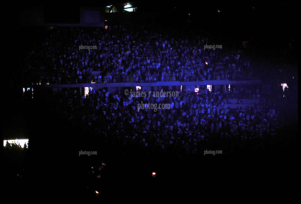 The Grateful Dead in Concert at the Brendan Bryne Arena, East Rutherford NJ, on April 1st 1988. View of the audience during the show.