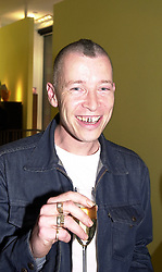 Fashion adviser ANDY BLAKE, at a party in London <br /> on 8th May 2000.  ODN 53