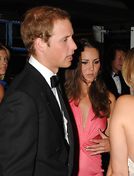 PRINCE WILLIAM and KATE MIDDLETON at the 2008 Boodles Boxing Ball in aid of the charity Starlight held at the Royal Lancaster Hotel, London on 7th June 2008.<br /> <br /> NON EXCLUSIVE - WORLD RIGHTS
