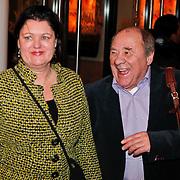 NLD/Den Haag/20110117 - Premiere film Sonny Boy, Frits Lambrechts en partner