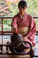 "Sa-do, chado or ""the way of tea"" is more about ritual, ceramics, and patience than it is about tea itself.  Macha tea is the type of tea served at tea ceremony which centers on the preparation, serving, and drinking of matcha."