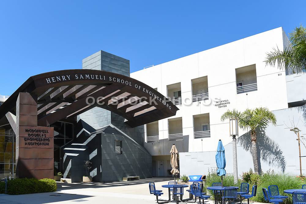 Henry Samueli School of Engineering Building on the Campus of the University of California