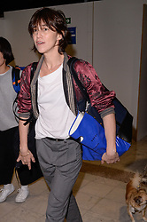 Charlotte Gainsbourg arrives at the airport ahead of the 70th Cannes Film Festival in Nice, France, on May 16, 2017. Photo by Julien Reynaud/APS-Medias/ABACAPRESS.COM