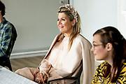 DEVENTER, 16-09-2021<br /> <br /> Koningin Maxima Bezoekt Vriendendiensten Deventer Winnaar Appeltje van Oranje 2021. Stichting Vriendendiensten is een regionale, onafhankelijke, cliëntgestuurde organisatie die zich inzet voor mensen met een psychische kwetsbaarheid.<br /> FOTO: Brunopress/Patrick van Emst<br /> <br /> Queen Maxima Visits Friends' Services Deventer Winner Appeltje van Oranje 2021. Friends' Services Foundation is a regional, independent, client-driven organization that is committed to people with a psychological vulnerability.