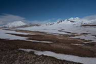 The Valley of Ten Thousand Smokes, looking towards Mt Griggs on the far left