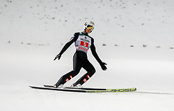 30.12.2018, Schattenbergschanze, Oberstdorf, GER, FIS Weltcup Skisprung, Vierschanzentournee, Oberstdorf, 1. Wertungsdurchgang, im Bild Daniel Huber (AUT) // Daniel Huber of Austria during his 1st Competition Jump for the Four Hills Tournament of FIS Ski Jumping World Cup at the Schattenbergschanze in Oberstdorf, Germany on 2018/12/30. EXPA Pictures © 2018, PhotoCredit: EXPA/ Peter Rinderer