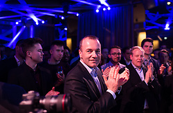 "12.04.2019, Palais Wertheim, Wien, AUT, ÖVP, ""Europa-Get-Together"" der Jungen Österreichischen Volkspartei. im Bild EVP-Spitzenkandidat zur Europawahl Manfred Weber // MEP Manfred Weber (European Peoples Party)  during get together of the Youth of the European People's Party regarding to Eurpean Parliment Elections of the Austrian People' s Party in Vienna, Austria on 2019/04/12. EXPA Pictures © 2019, PhotoCredit: EXPA/ Michael Gruber"