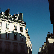 A traditional Parisian Building showing symmetrical Architecture.  Paris, France, 28th February 2011 .