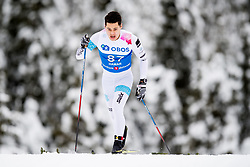 January 11, 2018 - GSbu, NORWAY - 180111 Ryan Jackson of Canada competes in the men's sprint classic technique qualification during the Norwegian Championship on January 11, 2018 in GÅ'sbu..Photo: Jon Olav Nesvold / BILDBYRN / kod JE / 160127 (Credit Image: © Jon Olav Nesvold/Bildbyran via ZUMA Wire)