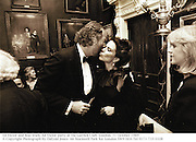 Ed Victor and Koo Stark. Ed Victor party at the Garrick Club. London. 31 October 1989<br />© Copyright Photograph by Dafydd Jones<br />66 Stockwell Park Rd. London SW9 0DA<br />Tel 0171 733 0108