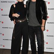 Kimberly Wyatt and Max Rogers attend Huawei - VIP celebration at One Marylebone London, UK. 16 October 2018.